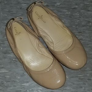 Cole Haan Bow Nude Ballet Flats